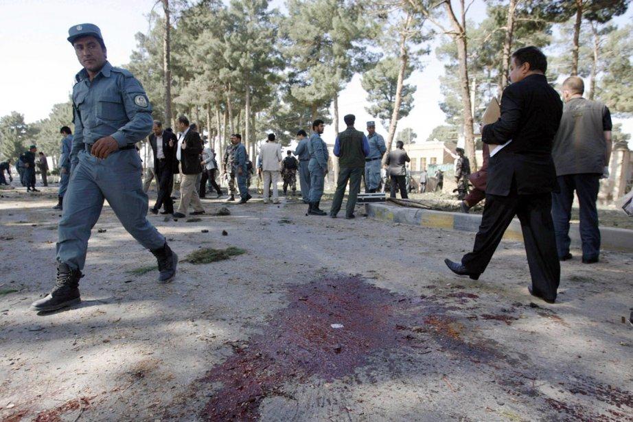 Hérat avait également été le théâtre d'une attaque-suicide... (Photo: Mohmmad Shoib, Reuters)