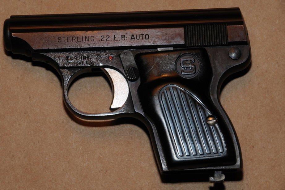 L'arme qui a tué Marie-Nicole Rainville.... (Photo PC)