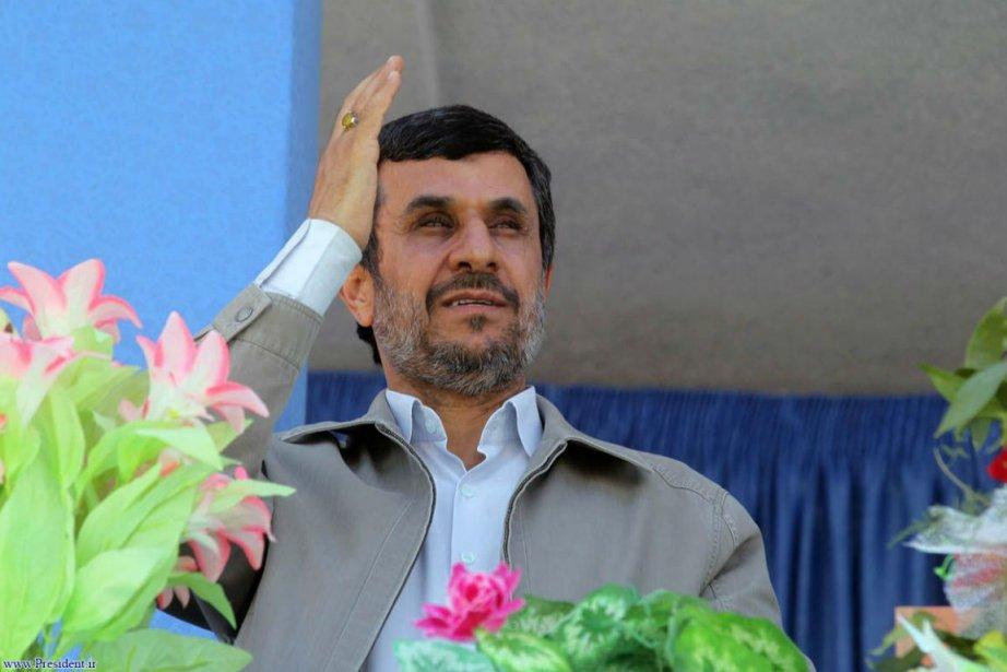 Mahmoud Ahmadinejad... (Photo AFP)
