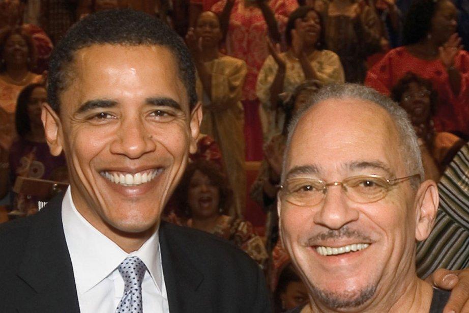 Barack Obama et le pasteur Jeremiah Wright en... (Photo: Archives AP)