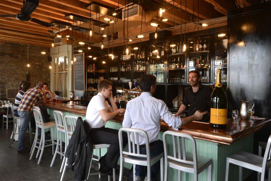 Communion est un bon petit restaurant où l'on... (Photo Bernard Brault, La Presse)