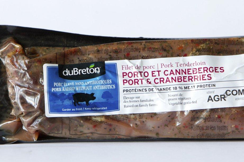 Filet de porc porto et canneberges... (Photo La Presse)