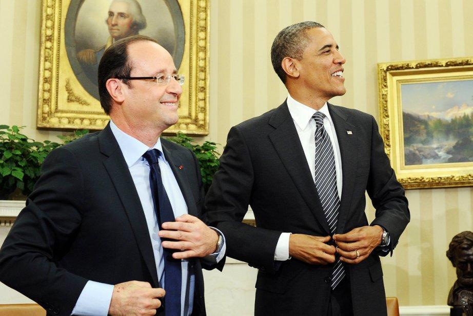 Les Américains «chérissent profondément» leur relation avec la... (Photo d'archives Jewel Samad, AFP)