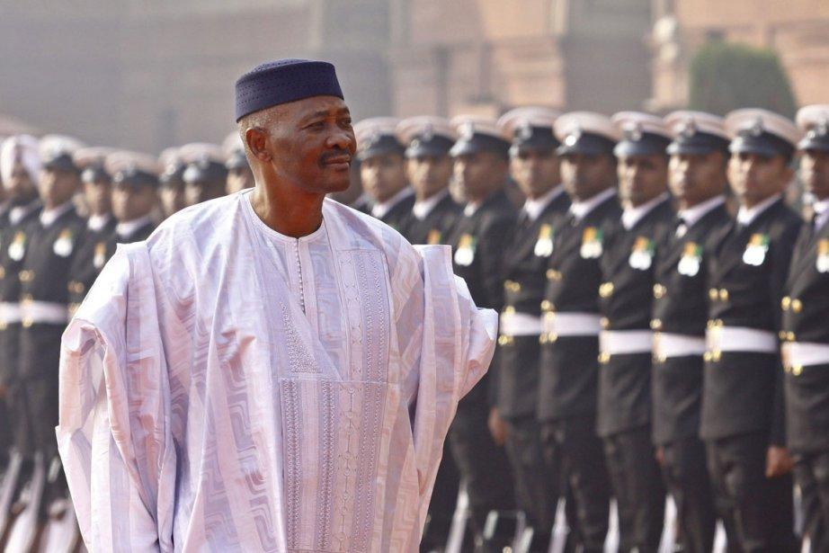 Amadou Toumani Touré... (Photo AP)