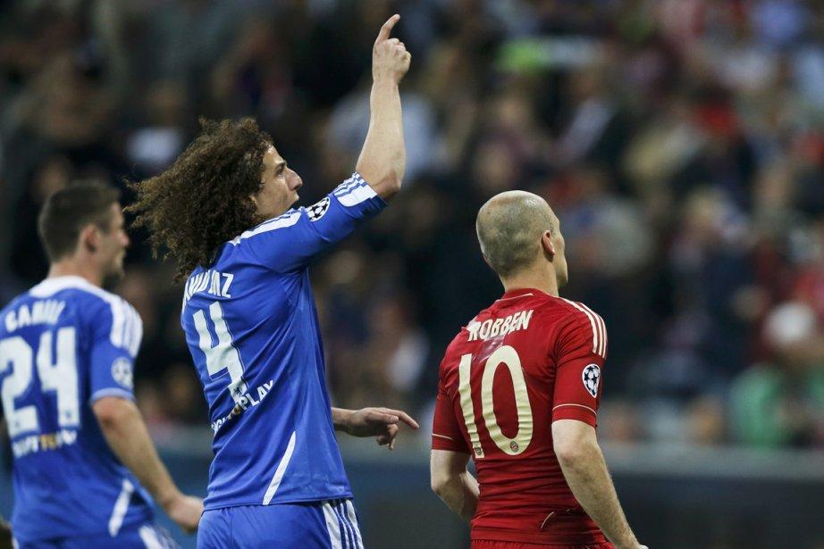 David Luiz, de Chelsea.... (Photo Wolfgang Rattay, Reuters)