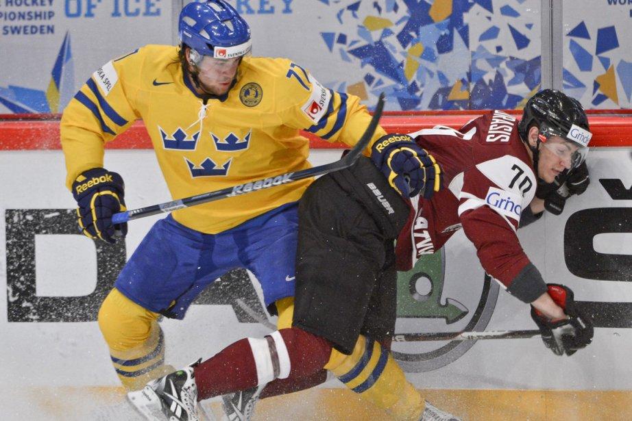 En 2009, sept joueurs suédois ont été repêchés... (Photo : Anders Wiklund, Associated Press)