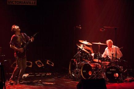 Le guitariste Raoul Björkenheim et le batteur Morgan... (Photo fournie par le Festival)