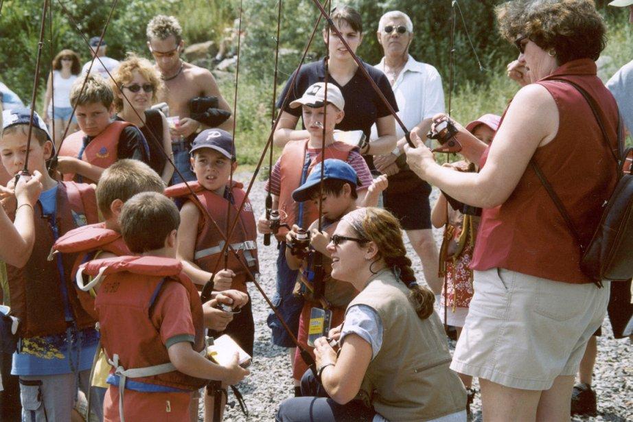 Mis sur pied en 1997, le programme Pêche... (Photo: Parc de la Rivière-des-Mille-Îles)
