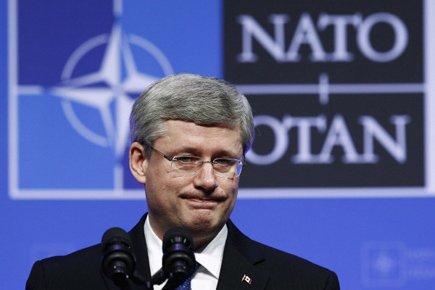 Stephen Harper a fait ces déclarations lors de... (Photo: Reuters)