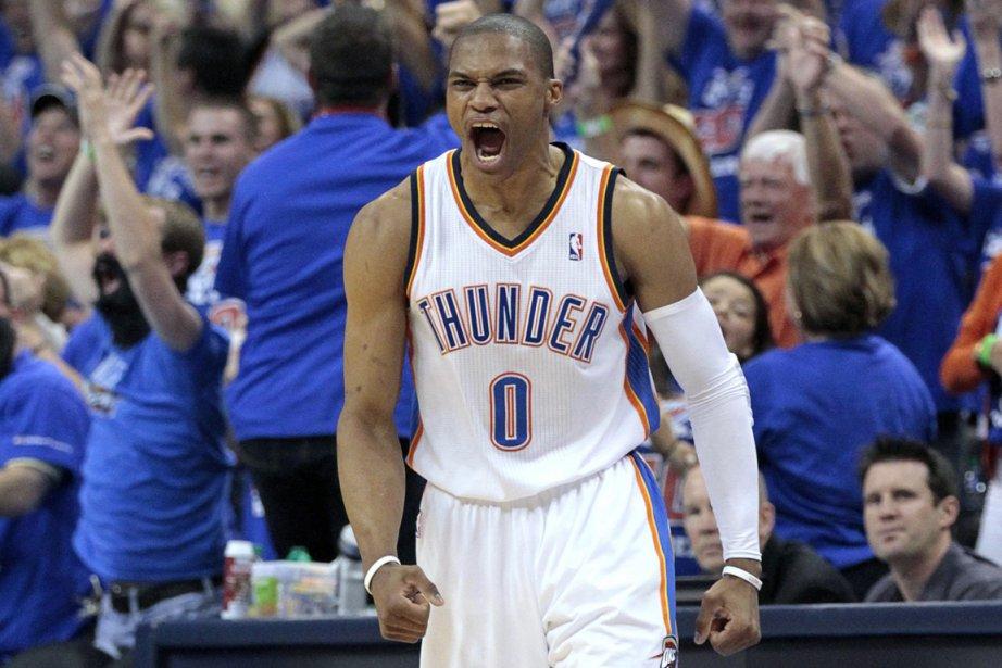 Russell Westbrook a inscrit 28 points dans la... (Photo: Reuters)