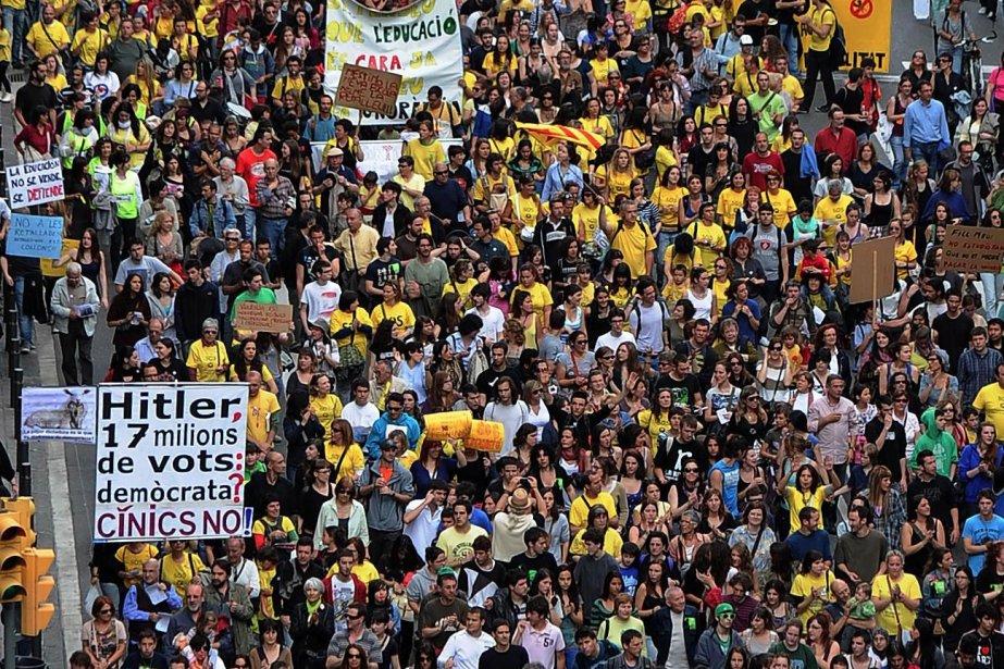 Encore récemment, l'Espagne était une force économique. Le... (AFP)