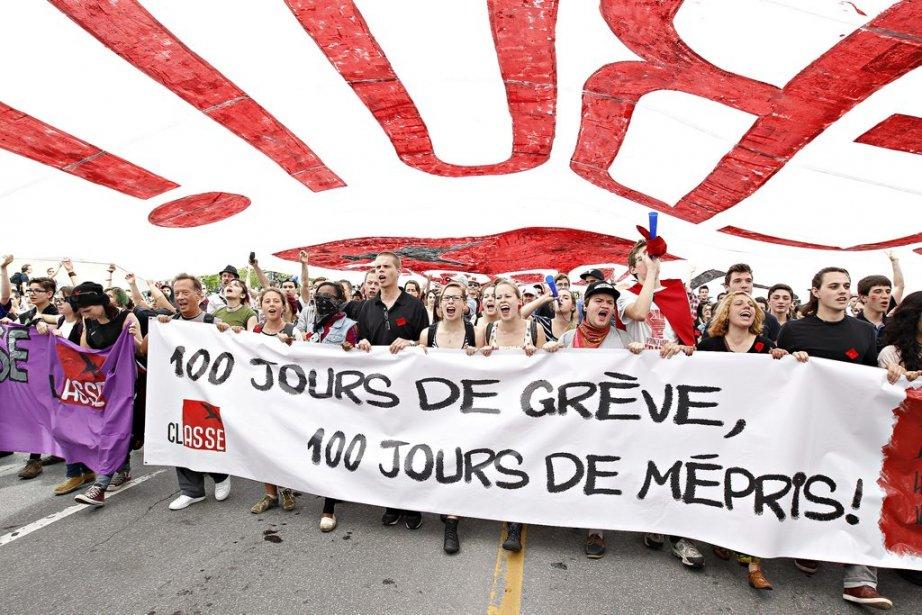 La FECQ et la FEUQ ont adopté une... (Photo: Alain Roberge, La Presse)