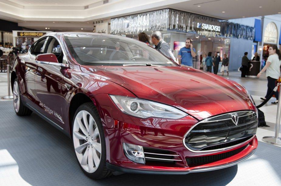 La Tesla Model S.... (Photo Ninon Pedneault, La Presse)