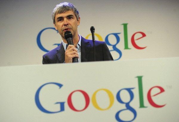 Le grand patron de Google, Larry Page....