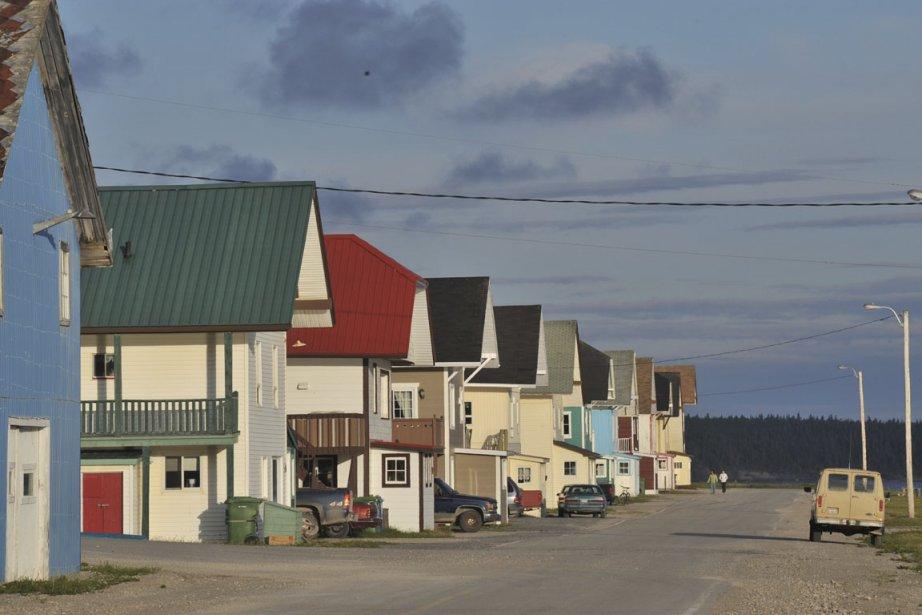 Le village de Port-Menier.... (Photo Steve Deschênes, le Soleil)