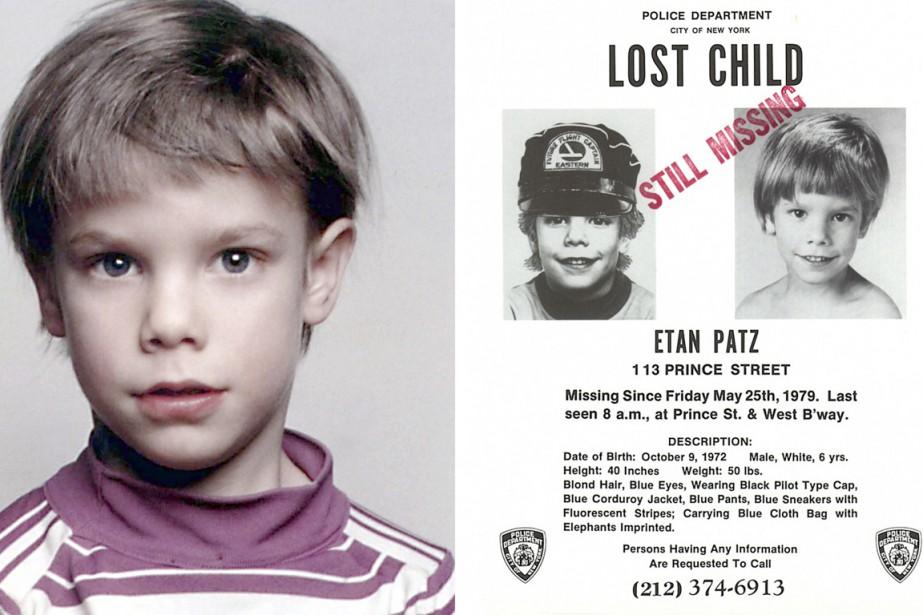 Etan Patz avait disparu dans son quartier de... (PHOTO ARCHIVES AFP)