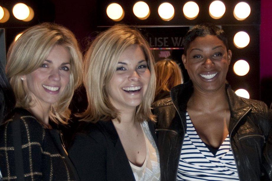 De gauche à droite: Jacynthe René, Kim Rusk... (Photo Ivanoh Demers, archives La Presse)