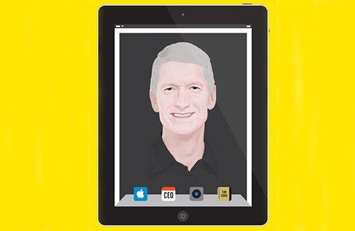 Le changement de comportement et de ton à la tête d'Apple est évident depuis...