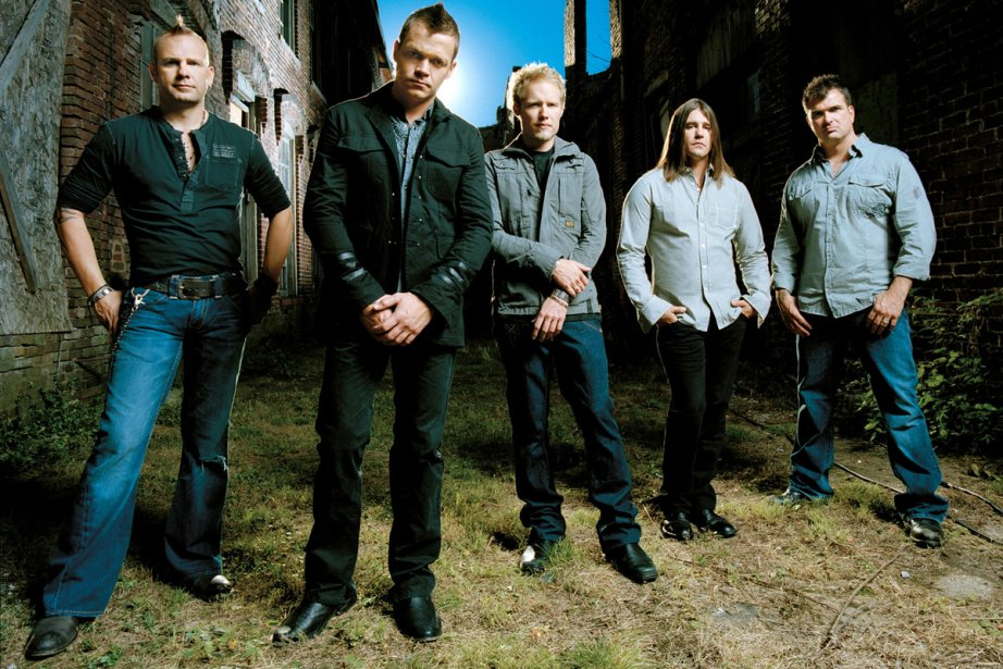 Le groupe 3 Doors Down... (Photo: Bloomberg News)