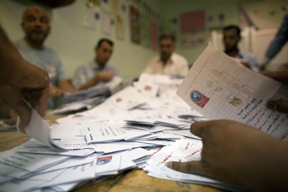 Bureau de scrutin en Égypte.... (Photo: AFP)
