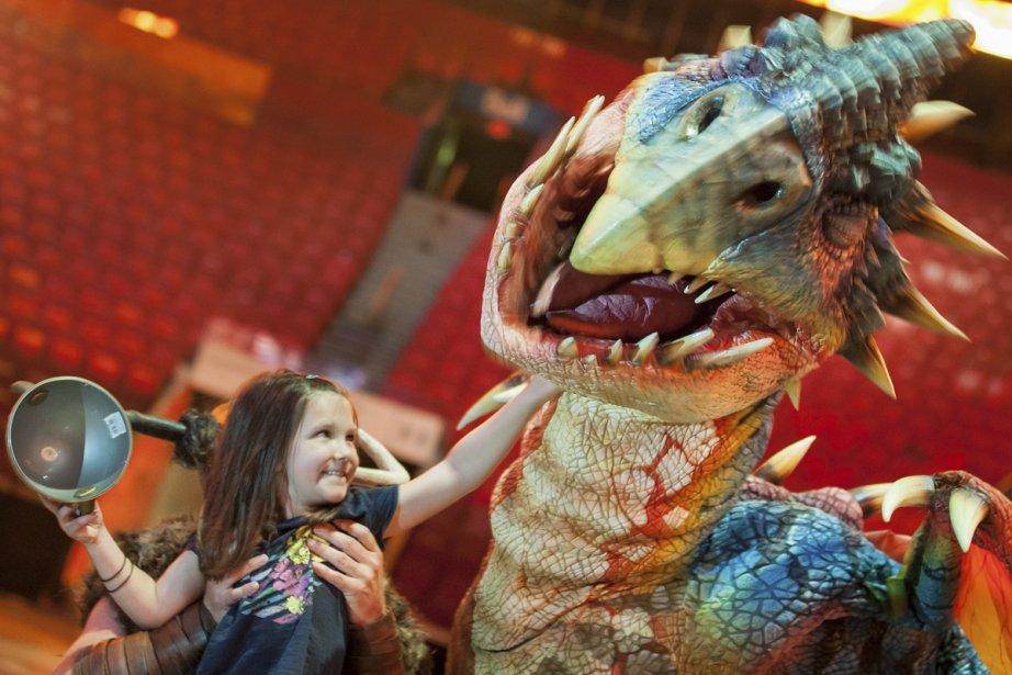 Dans Dragons, les bêtes fumantes prendront littéralement vie... (Photo: Édouard Plante-Fréchette, La Presse)