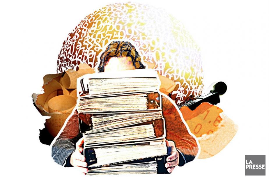 Ceux qui croient que les comptables... (Illustration Daniel Riopel La Presse)