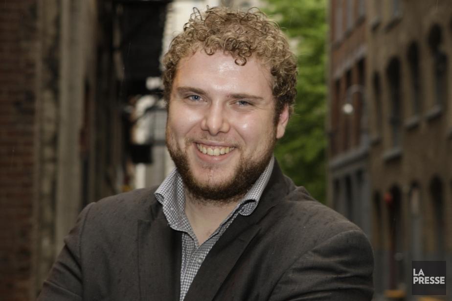 Marc-Antoine Cloutier, directeur-fondateur de Juripop.... (Photo Ninon Pednault, La Presse)