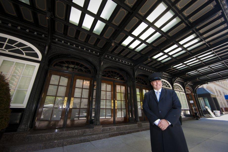 Le Ritz Montréal rénové accepte les réservations à... (Photo André Pichette, La Presse)
