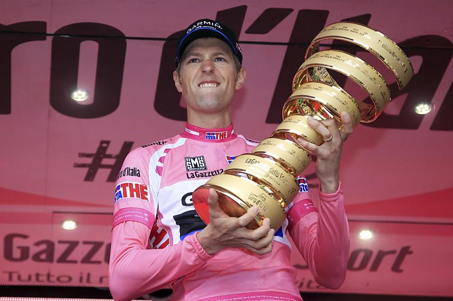 Le Canadien Ryder Hesjedal a remporté le Tour... (Photo archives AFP)