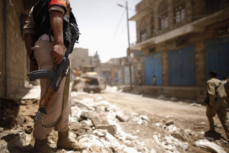 Treize membres présumés d'Al-Qaïda ont été... (Photo : Khaled Abdullah, Reuters)