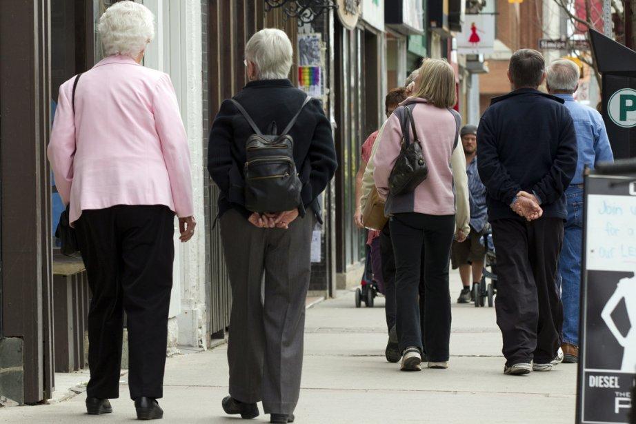 Le Québec vieillit plus vite que le reste... (Photo PC)