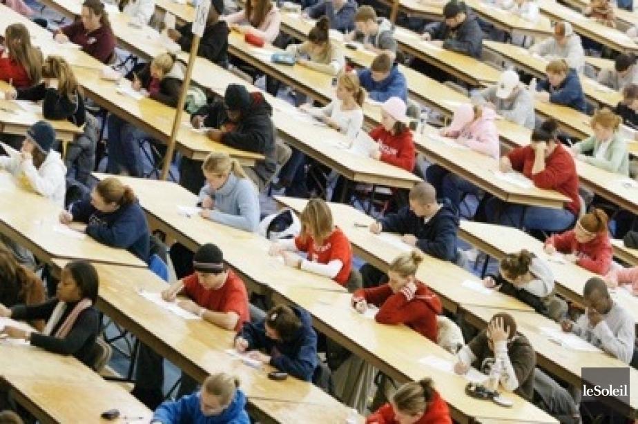 L'enjeu de l'enseignement supérieur est trop important pour... (Photothèque Le Soleil)