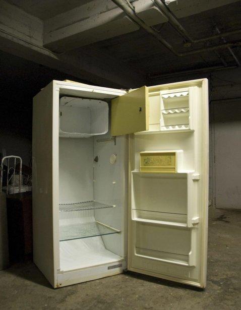 Des traces de sang ont été trouvées dans le réfrigérateur. (Reuters)