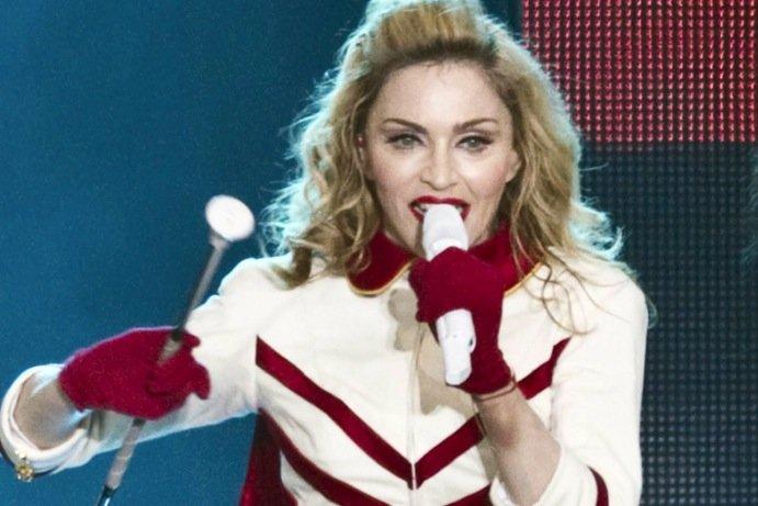 Madonna... (AFP)