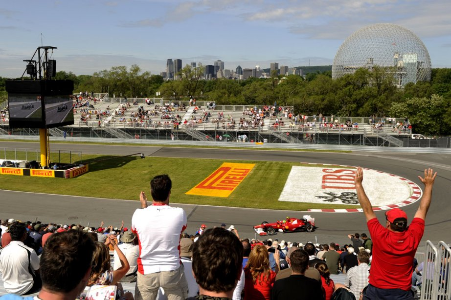 La journée portes ouvertes du Grand Prix du... (Photo Bernard Brault, archives La Presse)