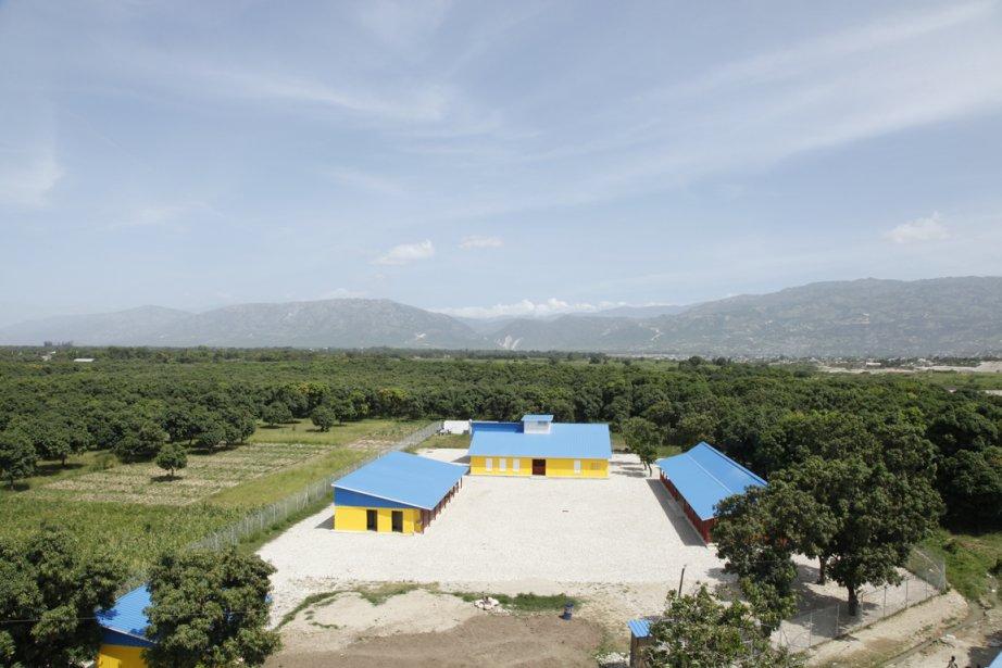 Le nouveau Centre pour enfants de Croix-des-Bouquets est toujours vide, dans l'attente de pensionnaires. (Photo : Étienne Coté-Paluck, collaboration spéciale)