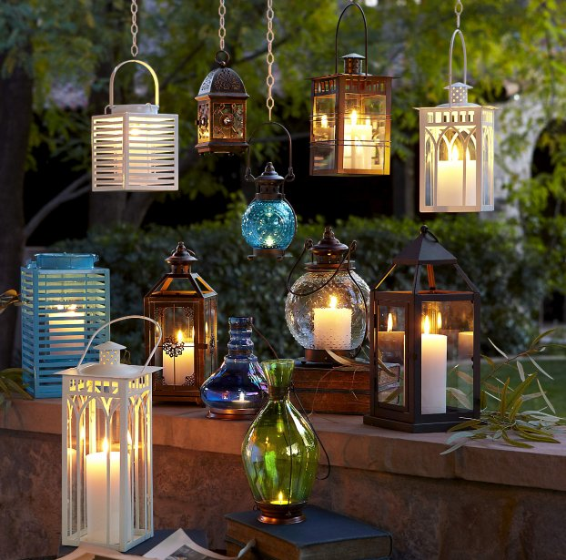 Lanternes pour chandelles, Pier 1 Import (Photo Pier 1 Import)