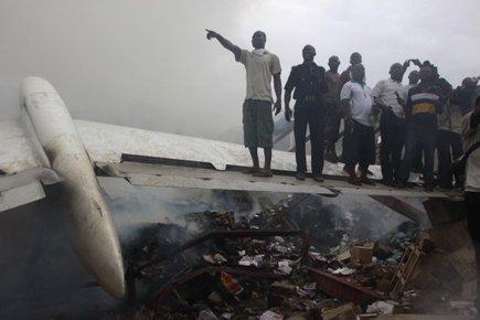 Un avion de ligne avec à son bord 153 passagers s'est écrasé... (Photo: AP)