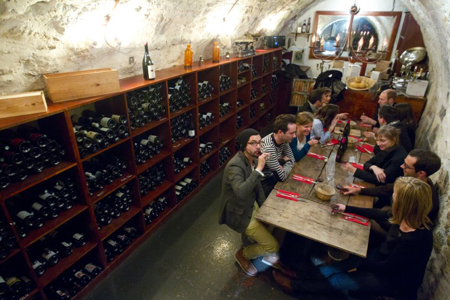 Visite du restaurant le Garde-Robe dans le 1er arrondissement. (François Roy, La Presse)