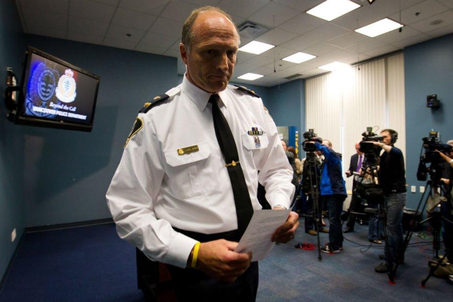 Warren Lemcke de la police de Vancouver a... (Photo: La Presse Canadienne)