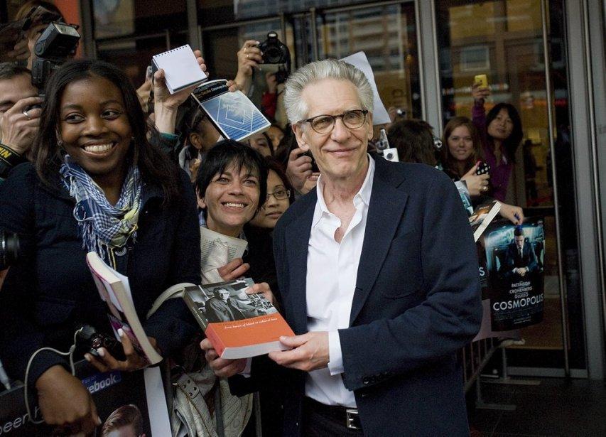 Le réalisateur David Cronenberg | 7 juin 2012
