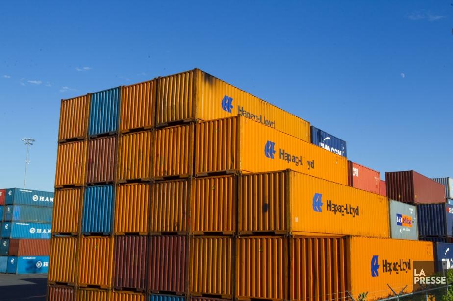 Les échanges commerciaux du Canada avec... (Photo André Pichette, La Presse)