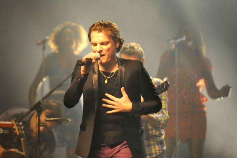 Le chanteur français Bénabar en était à sa... (Photo: Catherine Lefebvre, collaboration spéciale)