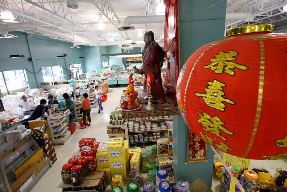 C'est en 1996 qu'un premier centre commercial chinois... (Photo: Martin Chamberland, archives La Presse)