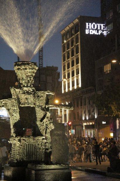 La 48e manifestation a rapidement dégénéré. Le SPVM a demandé aux participants de se disperser. | 10 juin 2012