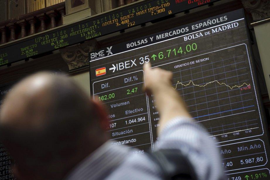 La poussée boursière des deux dernières semaines de... (Photo Associated Press)