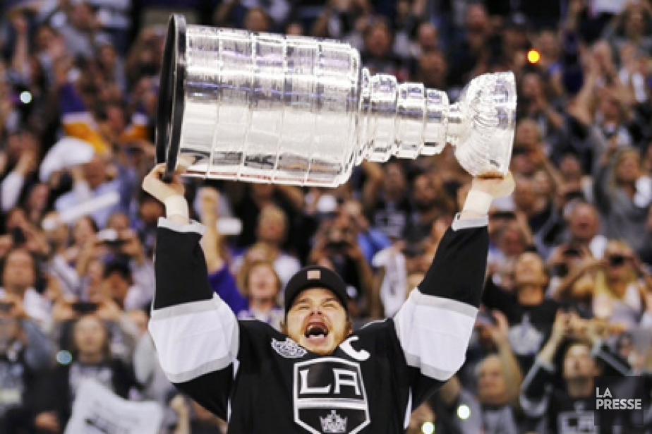 Le capitaine des Kings, Dustin Brown.... (Photo: Reuters)