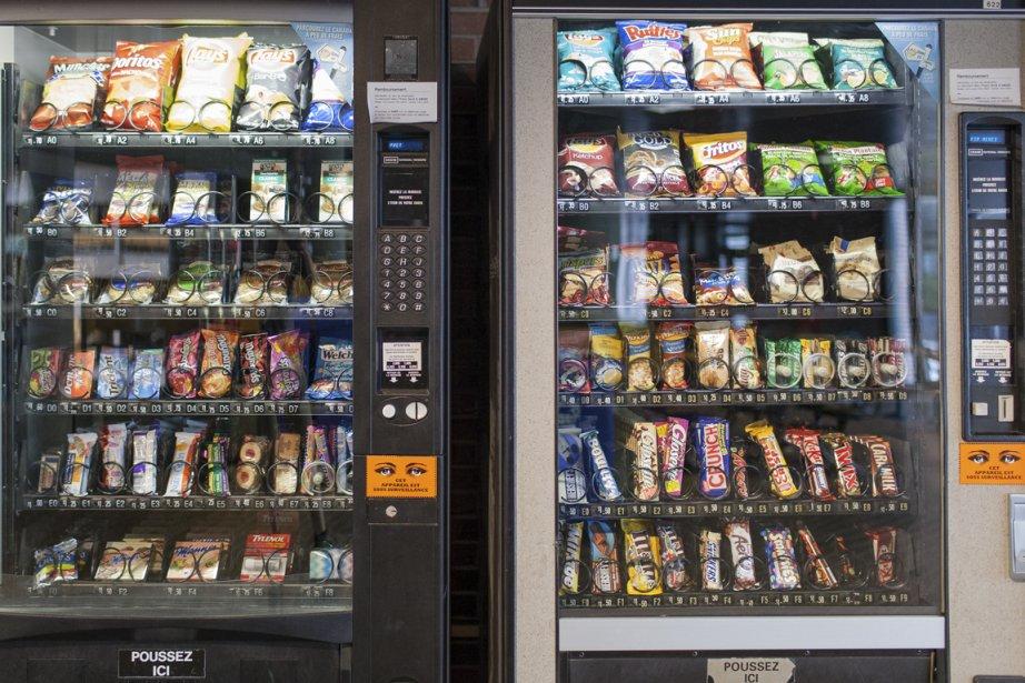 Échec du virage santé dans les distributeurs de l'UQAM