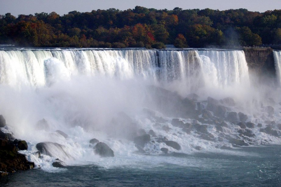 La femme, une résidante de Niagara Falls, a... (Photo Don Emmert, AFP)