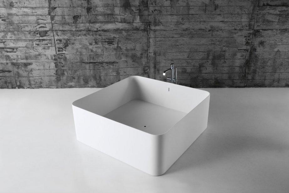 baignoire carr cheap simple enki mlangeur pour lavabo. Black Bedroom Furniture Sets. Home Design Ideas